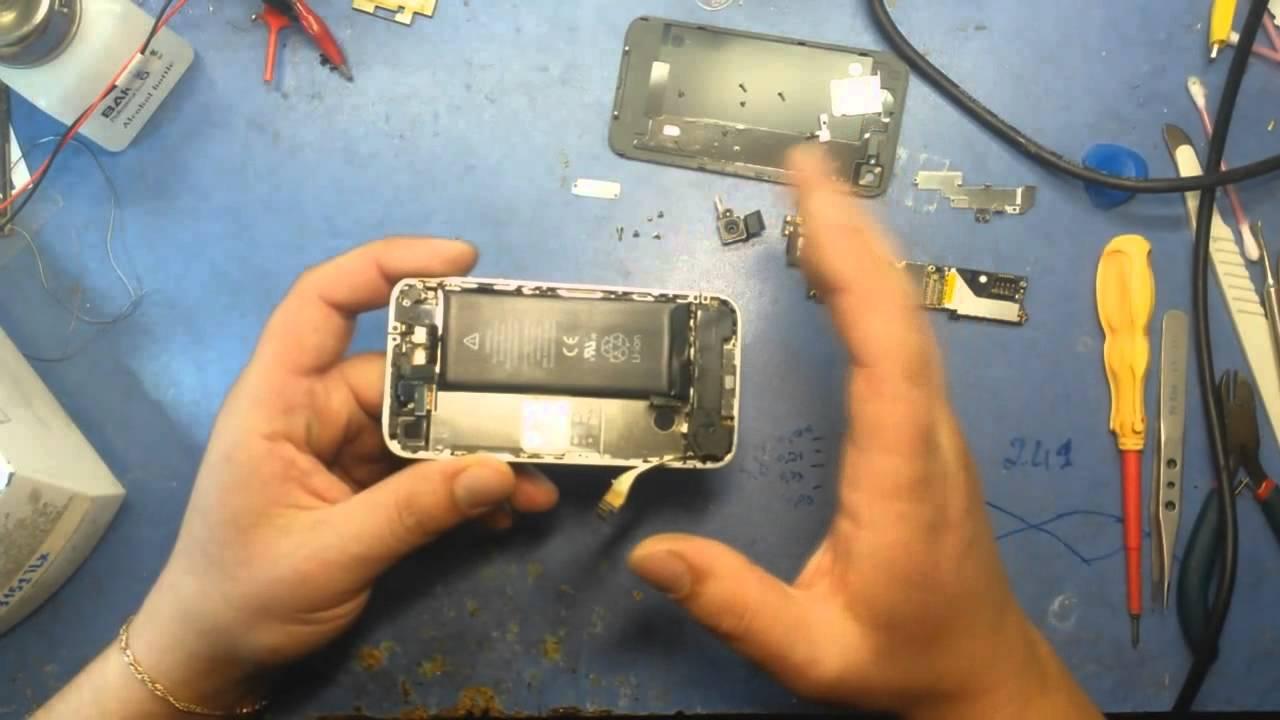 Iphone 4 не работает кнопка блокировки