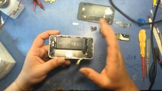 видео Не работает кнопка включения на iPhone, провалилась, не нажимается