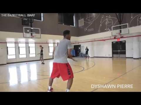 Dyshawn Pierre University of Dayton NBA Pre Draft Workout (Basketball Löwen Braunschweig)