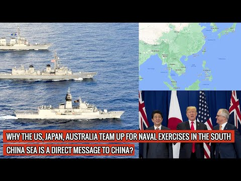US NAVY'S JOHN S.MCCAIN, JMSDF'S JS KIRISAME & AUSTRALIAN ROYAL NAVY'S HMAS ARUNTA JOIN HANDS !