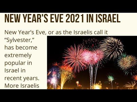New Year's Eve In Jerusalem Israel