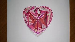 Dibujando una gema con forma de Corazón