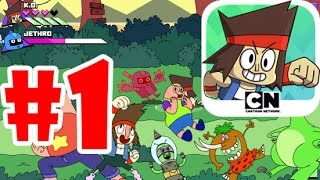 OK K.O.! Lakewood Plaza Turbo: First 15 Mins Part-1 Gameplay/Walkthrough iOS,Android 2016