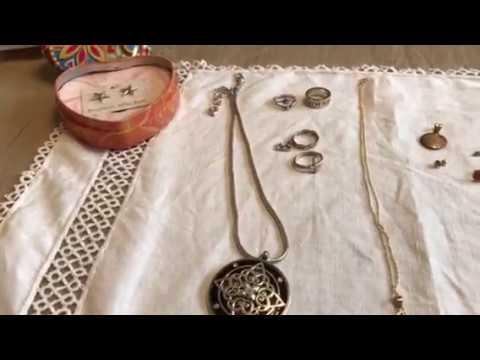 Garage Sale Estate Sale Finds Video #54 Gold Sterling Silver Jewelry
