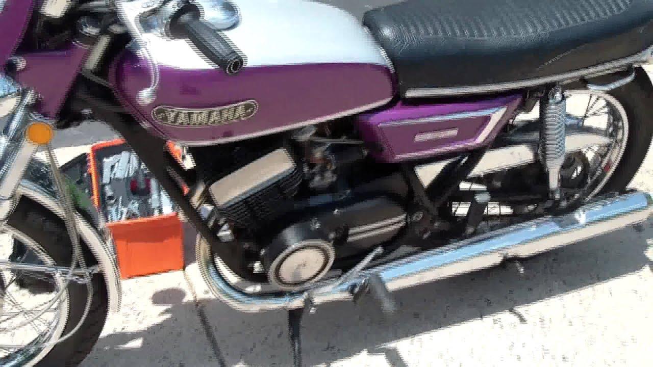 1970 yamaha r5 350 [ 1280 x 720 Pixel ]