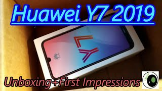 Huawei Y7 2019 unboxing review + first impressions
