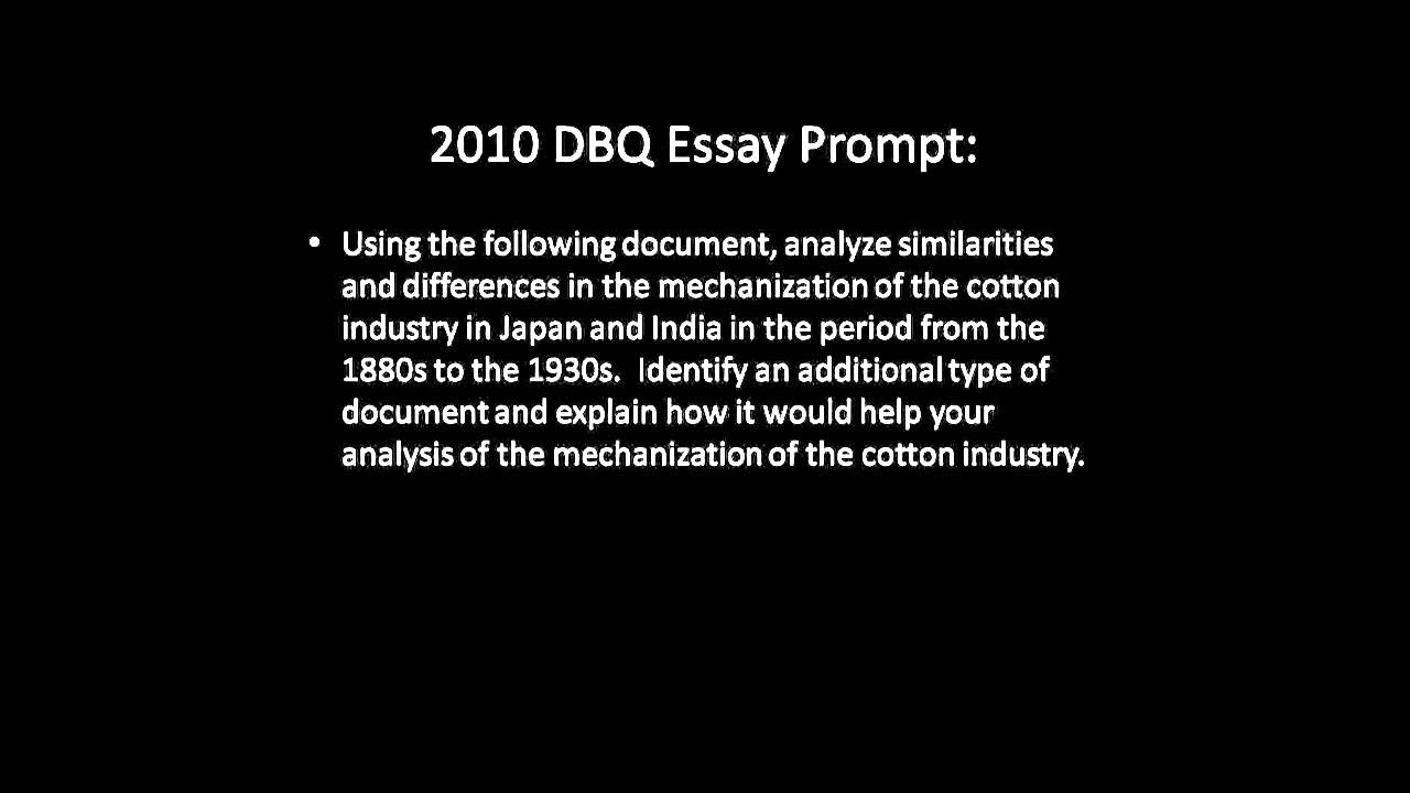 ap world dbq essay questions Ap exam format - dbq explained dbq help long essay help format of new ap world test history reasoning skills explained continuity and change examples.