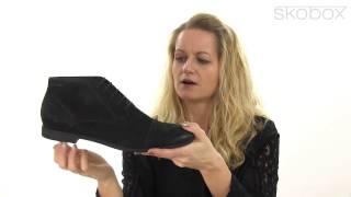 Skobox - Smart Vagabond støvlet i sort olieret nubuck - Køb Vagabond støvletter online