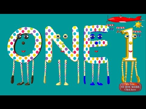 Learn how to spell the numbers from 1 to 10: Beginning spelling series