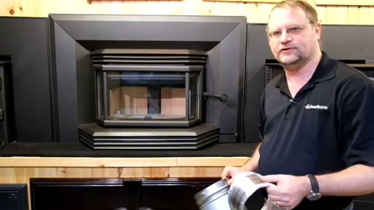 The Osburn 2200 Wood Burning Insert Review & Demo - YouTube