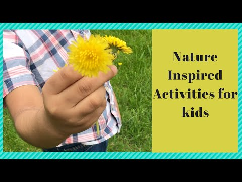 Nature inspired outdoor/physical activities and play ideas for kids| Easy Activities for 2-4yr kids