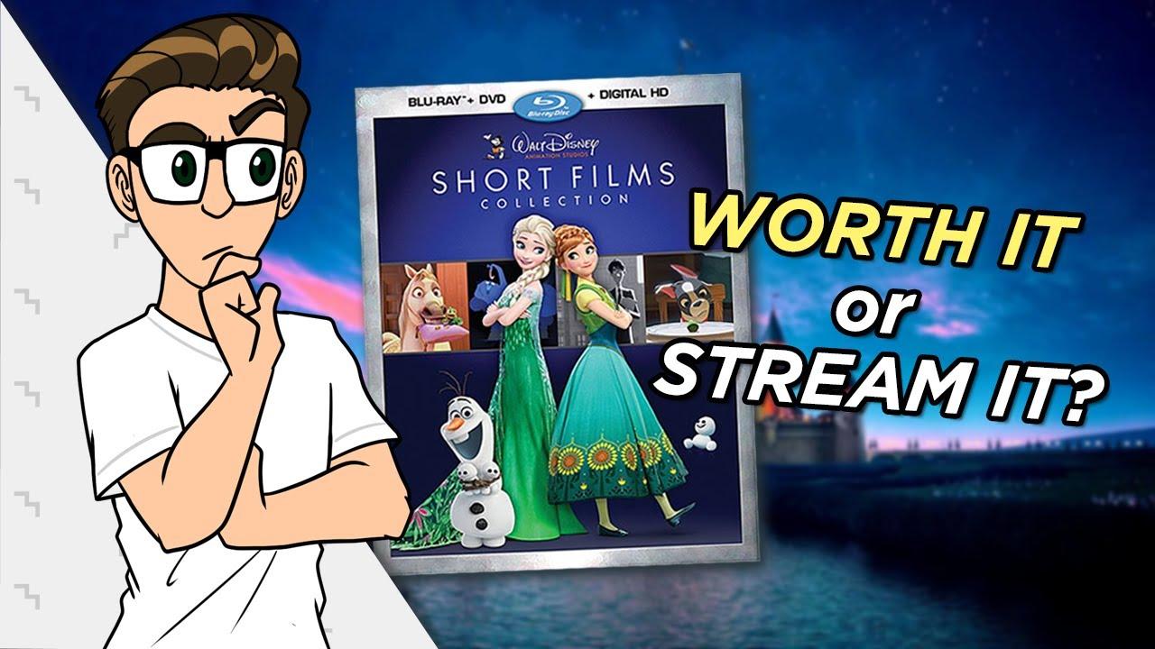 Walt Disney Animation Studios Short Films Collection Dvd Blu Ray