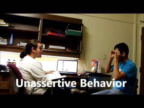 Assertive Behavior Nichol Hall