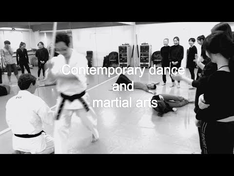 Contemporary dance and martial arts