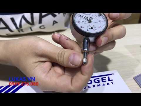 Đồng Hồ So Cơ Khí 0-5mm 240122 Vogel Germany