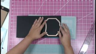 Tag Toppers and Partial Die Cutting