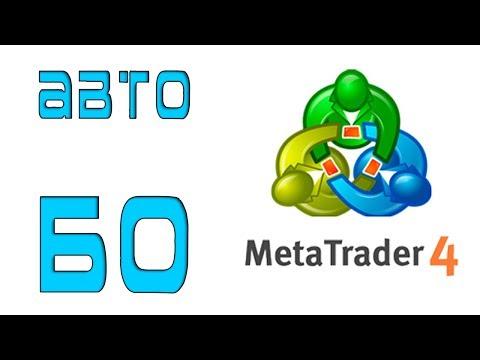 Автоматическая торговля бинарными опционами в метатрейдере 4