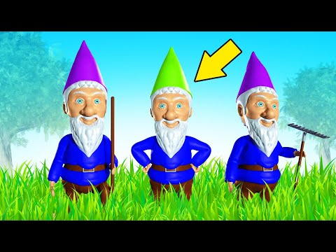 Which GNOME PROP Is HIDING AS JELLY?! (Witch It)  