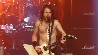 "Airbourne : ""I'm Going to Hell for This"" Rock City, Nottingham 22-11-17"