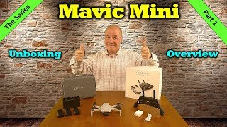 Mavic Mini - Unboxing and First Impressions