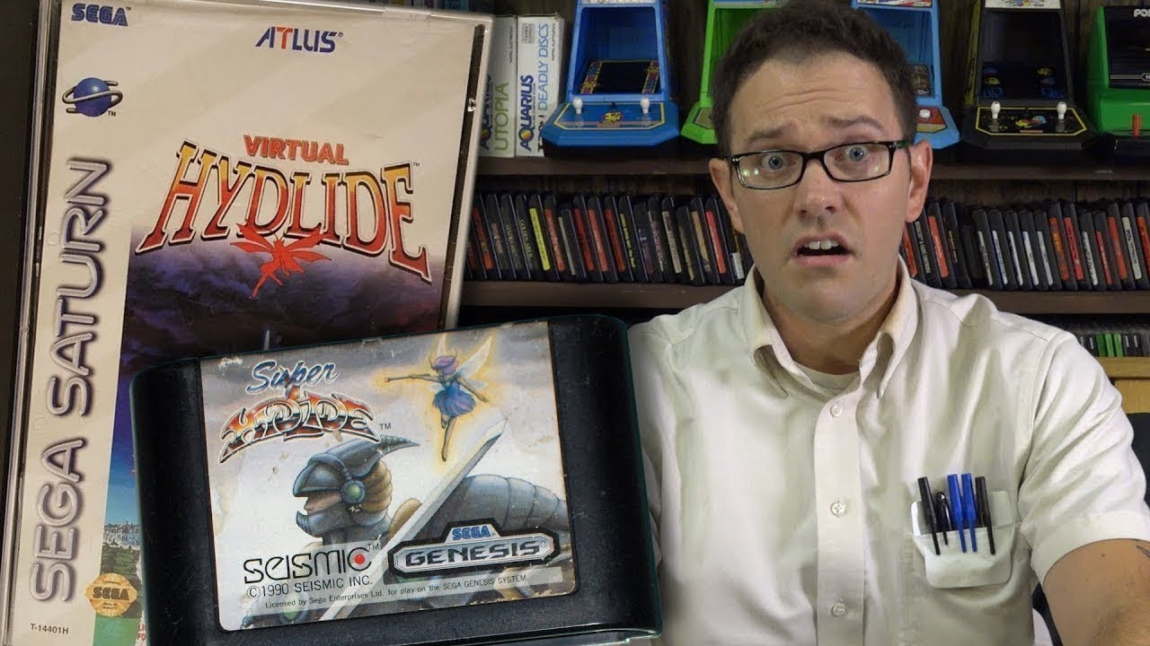 AVGN — Super & Virtual Hydlide — Rus-Reploid (ПЕРЕЗАЛИВ)