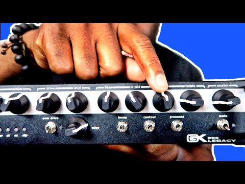 """The Legacy"" Gallien Krueger Amplifier Demo - Daric Bennett"
