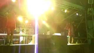 "Reggae Geel 2013! 18"" corner. Dub stage ."