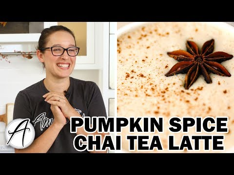 How to Make a Pumpkin Spice Chai Tea Latte with Chef Maureen | Cookie Spread Latte