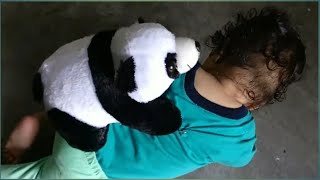 Baby Play with white & black - Baby Panda Games (Funny Fight Together)