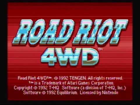 Road Riot 4WD playthrough (longplay)