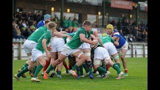 Match Highlights: Ireland v France | U18 Six Nations Festival