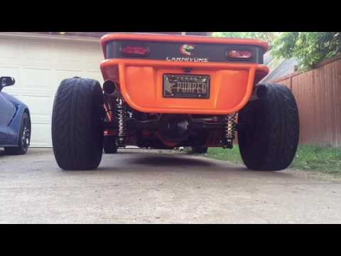 Wicked street legal professionally built V8 Sandrail speed demon