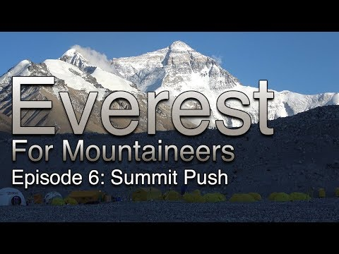 Everest for Mountaineers: