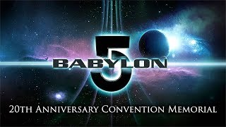 Babylon 5 - 20th Anniversary Convention memorial