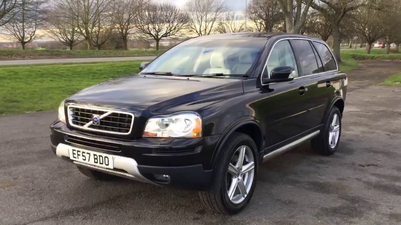 Volvo XC90 3 2 SE Sport AWD 4x4 7 Seater McCarthy Cars London   Geartronic  Auto Full Leather