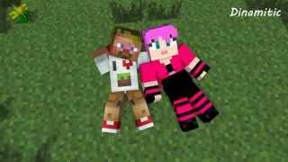 Minecraft Мультики - Любовь Диллерона и Миникотика