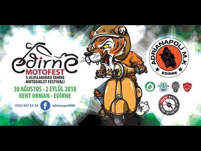 Edirne Moto Fest Hazırlıkları