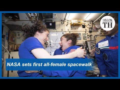 NASA sets first all female spacewalk