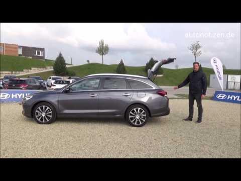 2017 Hyundai i30 Kombi Erstkontakt statisches Review