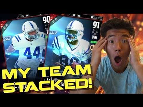 NEW LEGENDS JOIN THE TEAM & MORE! HALF A MILLION WORTH OF ADDITIONS! MADDEN ULTIMATE TEAM 17