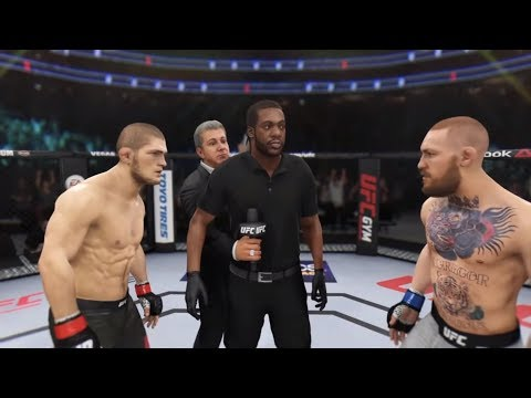 Khabib Nurmagomedov Vs. Conor McGregor (Champ Fight) - EA Sports UFC 3 (CPU Vs. CPU)
