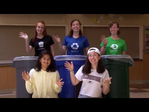 Waste Sorting In Palo Alto Schools