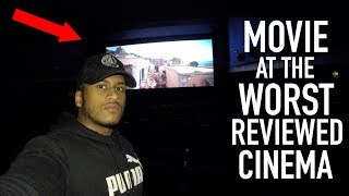 Watching a MOVIE At The WORST REVIEWED CINEMA In My City (London)