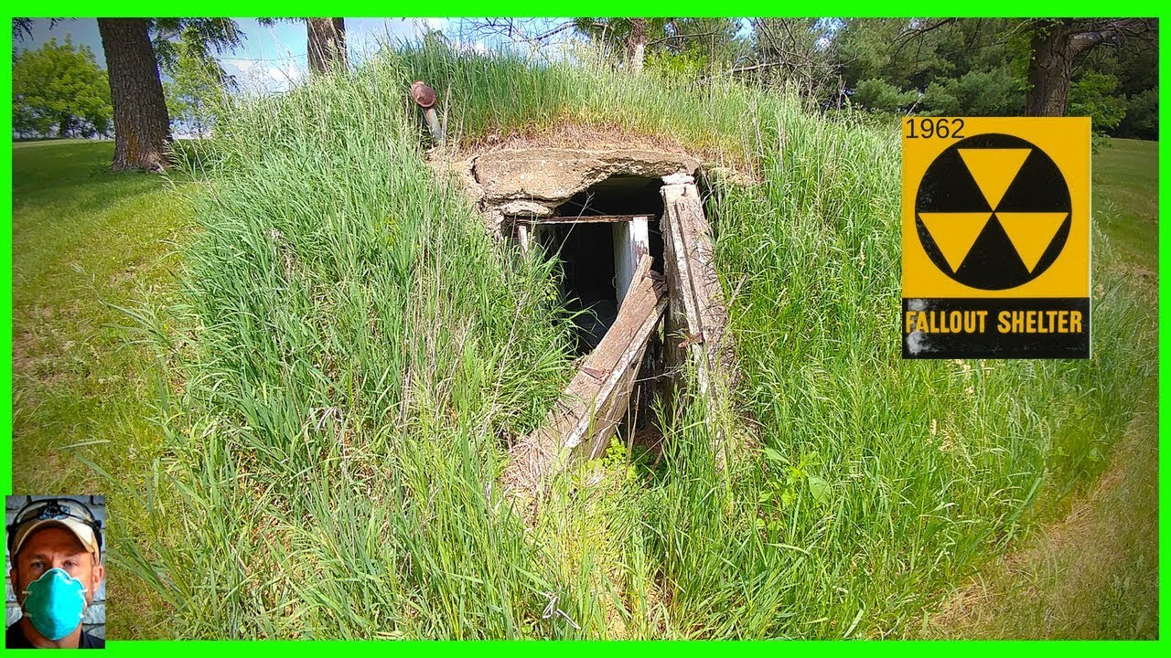 Backyard Fallout Shelter homemade apocalypse bunker found - youtube