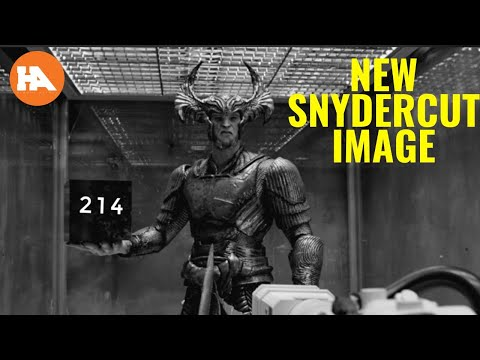New Snydercut Image Shows Steppenwolf In Star Labs