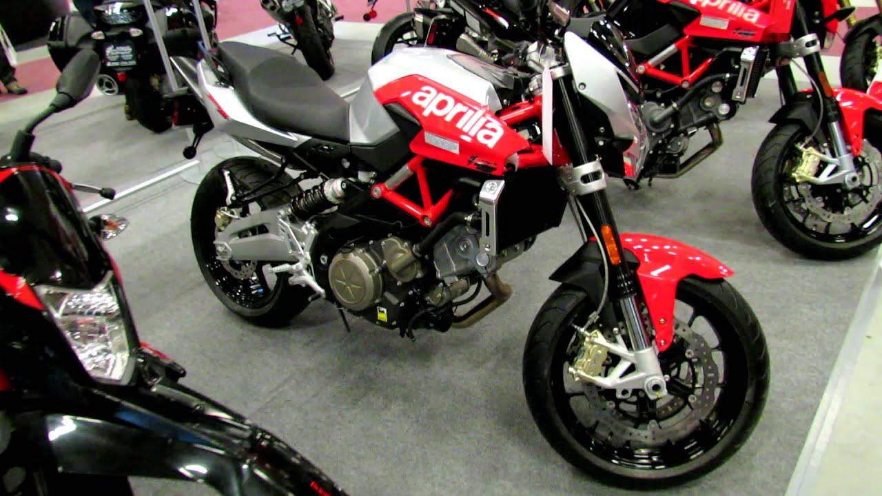 2012 aprilia shiver 750 at 2012 montreal motorcycle show salon de la moto de montreal youtube. Black Bedroom Furniture Sets. Home Design Ideas