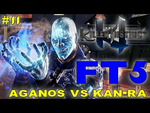 Killer Instinct - First to Five: CVE Bird (Aganos) vs CVE RIMZ (Kan-Ra) Video #11