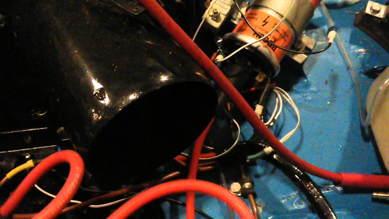 Issue With Points Replacement Electronic Ignition On Mg Midget Easy Electrical Wiring Fix