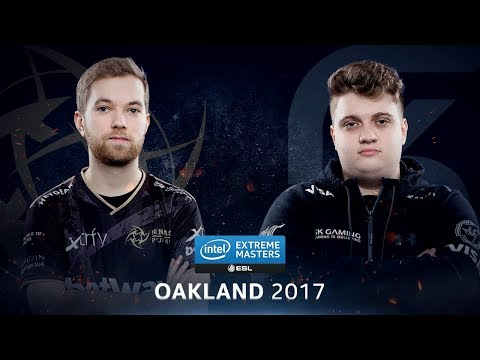 CS:GO - NiP vs. SK [Overpass] Map 1 - Semifinal - IEM Oaklan