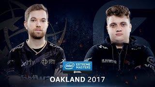 CS:GO - NiP vs. SK [Overpass] Map 1 - Semifinal - IEM Oakland 2017